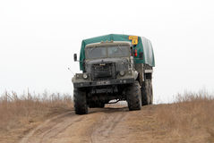 Heavy military vehicle Stock Images
