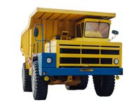 Heavy mining dumper Royalty Free Stock Photo