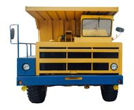 Heavy mining dumper Royalty Free Stock Images