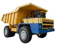 Heavy mining dumper Stock Photo
