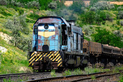 Heavy mining train Royalty Free Stock Photography