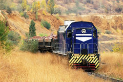 Heavy mining train Stock Photography