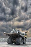Heavy mining truck Stock Photo