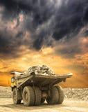 Heavy mining truck Stock Photos
