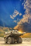 Heavy mining truck Stock Photography