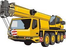 Heavy Mobile Crane Royalty Free Stock Image