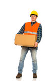 Heavy package. Stock Photos
