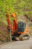 Heavy pickhammer machinery Stock Images