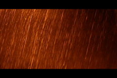 Heavy rain stock video