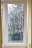 Heavy rain outside Royalty Free Stock Image