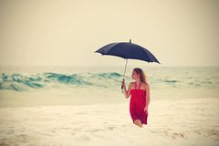 Heavy rain Royalty Free Stock Images