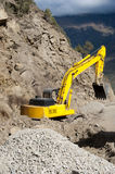 Heavy road construction elevator machine Stock Images