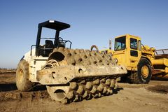 Heavy Road Equipment Royalty Free Stock Images