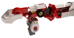 Heavy Robotic Arm Royalty Free Stock Photography