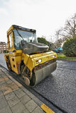 Heavy roller compactor Royalty Free Stock Photography