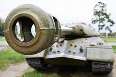 Heavy russian tank IS-3 Royalty Free Stock Photos
