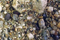 Heavy sands swollen river Stock Image