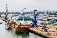 Heavy Shipping Industry Royalty Free Stock Images