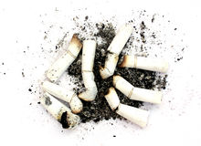 Heavy smoker Royalty Free Stock Photo