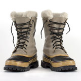Heavy snow boots Royalty Free Stock Photo