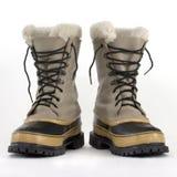 Heavy snow boots royalty free stock photo