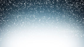Heavy snowfall christmas background Royalty Free Stock Images