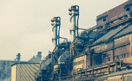 Heavy steel industry factory Royalty Free Stock Image
