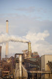 Heavy steel industry at steel factory Royalty Free Stock Image