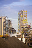 Heavy steel industry at steel factory Stock Images