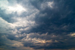 Heavy storm clouds Stock Photography