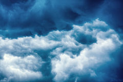 Heavy Storm Clouds Stock Photo