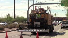 Heavy Street Equipment Operators stock video
