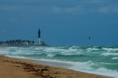 Heavy surf from Atlantic ocean Royalty Free Stock Image
