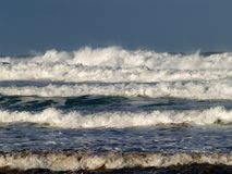 Heavy surf. Stock Photography