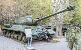 Heavy tank IS-2 sample 1943 Stock Photo