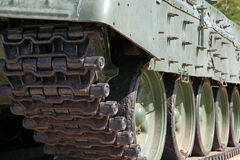 Heavy tank track Royalty Free Stock Images