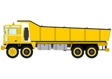 Heavy tipper truck Stock Photography