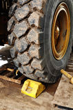 Heavy tire Stock Images