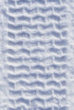 Heavy tire track in snow Royalty Free Stock Photo