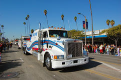 Heavy Tow Truch in parade Stock Photos