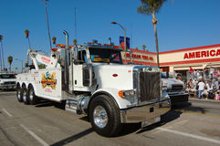 Heavy Tow Truch in parade Royalty Free Stock Photo