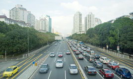 Heavy traffic Royalty Free Stock Image