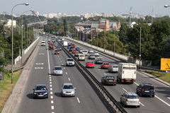 Heavy traffic Royalty Free Stock Photography