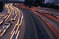 Heavy traffic Stock Image