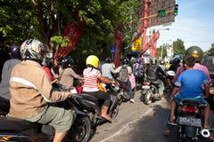 Heavy traffic Stock Photo