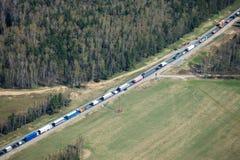 Heavy traffic Stock Photography