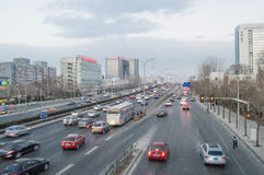 Heavy traffic Royalty Free Stock Images