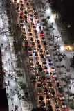 Heavy traffic Stock Image
