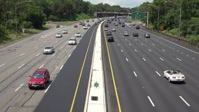 Heavy Traffic, Traffic Jam, Cars, Automobiles, Trucks stock footage