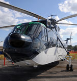 Heavy transport helicopter Stock Images
